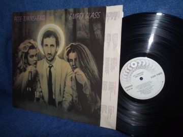 РАСПРОДАЖА Pete Townshend (Who) Empty glass Canada 1980г	   LP
