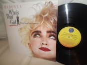 РАСПРОДАЖА Madonna	Who`s that girl	Canada	Sire	1987г   LP