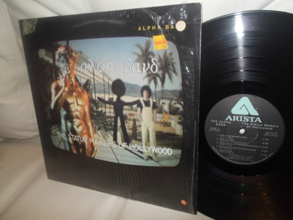 Alpha Band	(ex Bob Dylan's band feat.T-Bone Burnett) The statue makers of Hollywood	Canada	Arista	1978г		 RARE	    LP