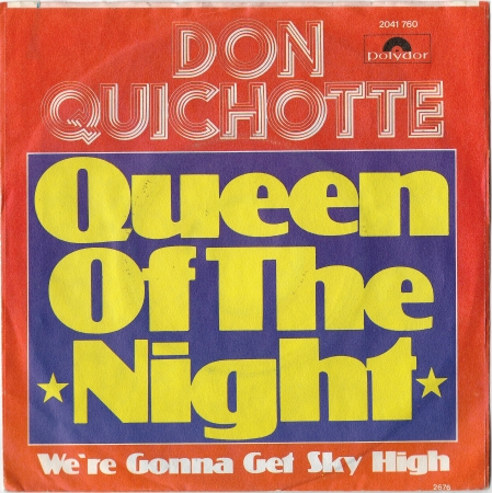 "Don Quichotte ""Queen Of The Nignt"" 1976 Single"
