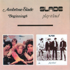 Slade	Beginnings / Play It Loud	1969 / 1970г.	    CD