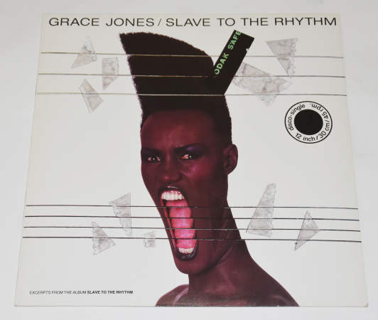 "Grace Jones ""Slave To The Rhythm"" 1985 Maxi Single"