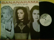 Bananarama Pop life Ладъ 1991г EX LP