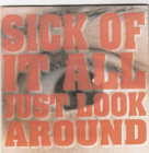 Sick Of It All (harcore)	Just Look Around	1992(1997)г	MADE IN Japan	Sony rec. ,	IFPI,   CD