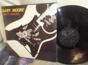 Gary Moore	Dirty fingers  		SNC	1992г,    LP