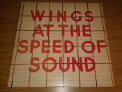 WINGS At The Speed Of Sound England Orig., Insert, A5u/B5u, EX+ EX+