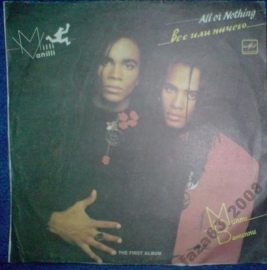 Milli Vanilli	All or nothing (1988) АЗГ feat. Girl you know it's true. Ma Baker . Hush и др.	 Produced by Frank Farian EX- LP