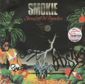 Smokie with Chris Norman	 Strangers In Paradise	1982(2016)г.	 реплика, с бонусом     CD