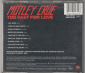 Motley Crue	Too fast for love	1982г	MADE IN Germany	Elektra	#7559-60174-2, 	IFPI, W,  NM  CD