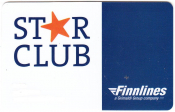 Клубная карта Finnlines Star club Финляндия