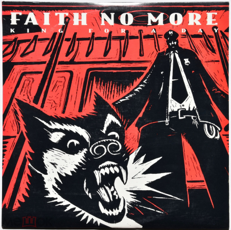 "Faith No More ""King For A Day Fool For A Lifetime"" 1994 2Lp Original"
