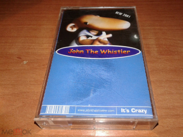 JOHN THE WHISTLER It's Crazy 2001г. Invisible Holahup новая
